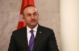 Çavuşoğlu, TBMM Dışişleri Komisyonuna sunum...