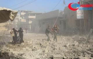Doğu Guta'daki saldırılarda 44 sivil hayatını...