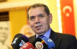 Dursun Özbek: Galatasaray'ı yarı yolda bırakmaya...