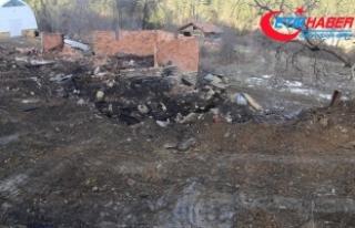 Evleri yanan aileye 34 gündür ulaşılamıyor
