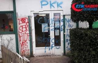 Fransa'da terör örgütü PYD/PKK yandaşlarından...