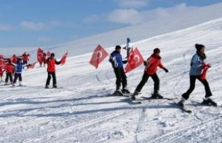 Göle Kayak Merkezi hizmete açıldı