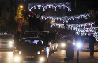 Hatay'da Zeytin Dalı Harekatı'na destek...