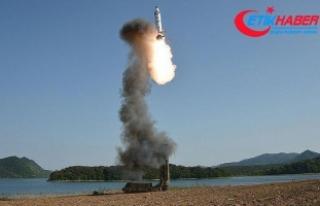 ABD'den 'Kuzey Kore yeni balistik füze...