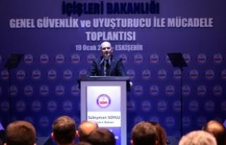 İçişleri Bakanı Soylu: Avrupa, sentetik uyuşturucu...