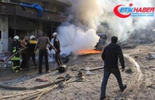 İdlib'de pazar yerine saldırı: 7 ölü, 18...