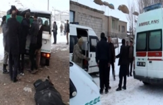 İran sınırında yabancı uyruklu 2 kişinin donmuş...