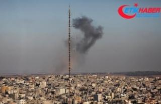 İsrail Gazze'de el-Kassam Tugayları'nın...