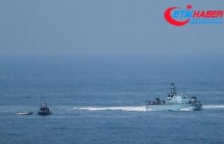 İsrail güçleri 4 Filistinli balıkçıyı gözaltına...