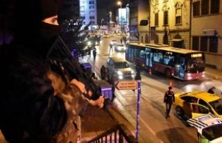 İstanbul'da bin 200 polisle 'Yeditepe Huzur'...