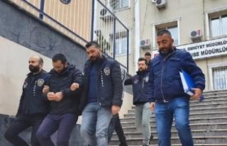 İstanbul'da film gibi banka soygunu