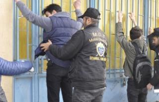 İstanbul'da okul çevrelerinde uyuşturucu denetimi
