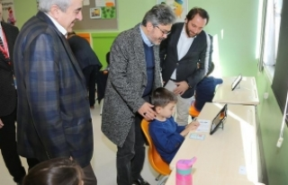 İstanbul Millî Eğitim Müdürü Yelkenci, BİLSEM'i...