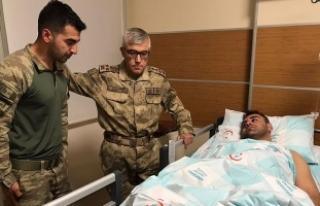 Jandarma Genel Komutanı Çetin, çığ düşmesiyle...