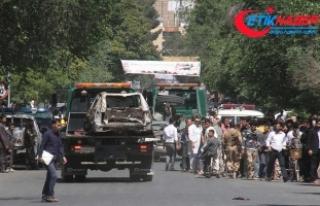 Kabil'de düzenlenen bombalı saldırıda ölü...