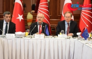 Kılıçdaroğlu, AB ülkelerinin büyükelçileriyle...