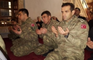 Kosova'da, Afrin'de şehit düşen Türk...