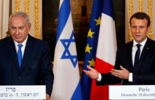 Macron ve Netanyahu telefonda görüştü