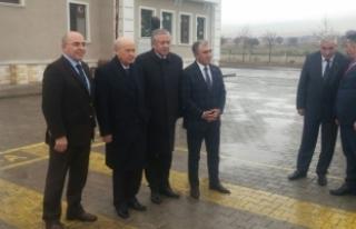 MHP Lideri Bahçeli Aksaray'da Ülkü Ocakları...
