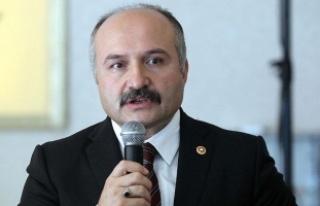 MHP Grup Başkanvekili Usta'dan şehit ailesine...