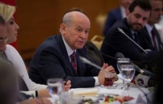 MHP Lideri Bahçeli: MHP cumhurbaşkanlığı adayı...
