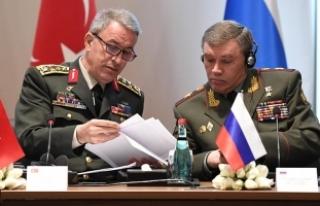 Orgeneral Akar Rus mevkidaşıyla görüşecek