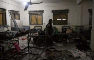 PYD/PKK, Afrin'den hastanelere top ateşi açtı:...
