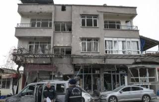 PYD/PKK saldırılarında 1 sivil öldü, 46'sı...
