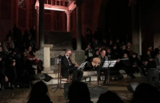 Roma'da klasik Türk müziği konseri