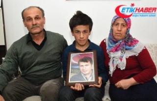 Şehit Necmettin öğretmenin ailesinden Zeytin Dalı...