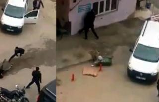 Siirt'te silah, bıçak ve çekiçli kavga