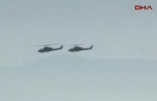 İtalyan donanmasına ait helikopter denize düştü