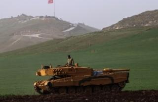 Zeytin Dalı Harekatı'nda 790 terörist etkisiz...