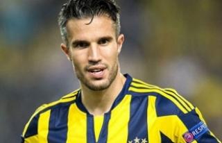 Robin van Persie, Derbi Öncesi Fenerbahçe'ye...