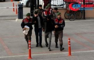 Afganlarla sınırı geçerken yakalanan FETÖ şüphelileri...