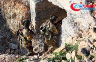 Afrin'de teröristlerin eğitim alanı ele geçirildi