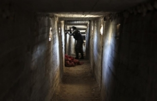 Teröristlere ait tünel ve mevziler kullanılamaz...