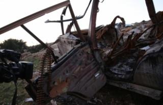 Afrin'de intihar saldırısı girişimi tank...