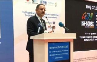 """Bakan Özhaseki'den """"asbest"""" açıklaması"""