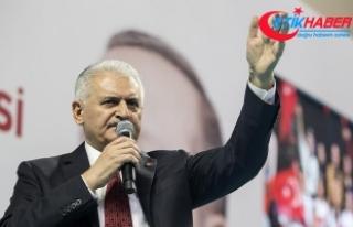 Başbakan Yıldırım: Zeytin Dalı Harekatı, terörün...