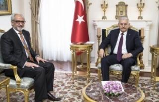 Başbakan Yıldırım, Kuveyt'in Ankara Büyükelçisi...