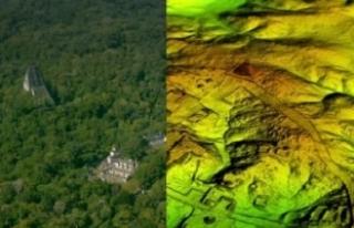 Bilim insanları Guatemala ormanı altında gizlenmiş...
