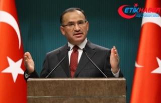 Başbakan Yardımcısı Bozdağ: Jetlerimizi gördüklerinde...