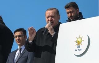 Cumhurbaşkanı Erdoğan: Afrin'e doğru ilerliyoruz,...