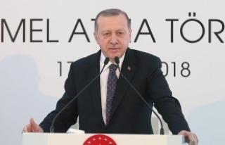 Cumhurbaşkanı Erdoğan: Göz kamaştırıcı bir...