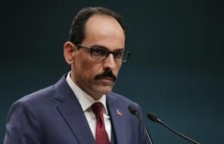 Cumhurbaşkanlığı Sözcüsü Kalın'dan Afrin,...