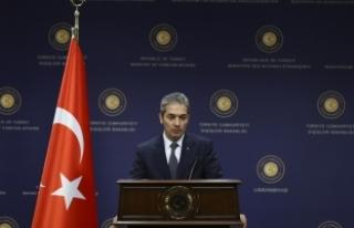 Dışişleri Bakanlığı Sözcüsü Aksoy: Karşılık...