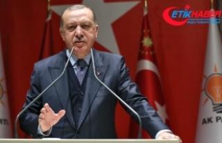 Cumhurbaşkanı Erdoğan: Şu anda Suriye'de...