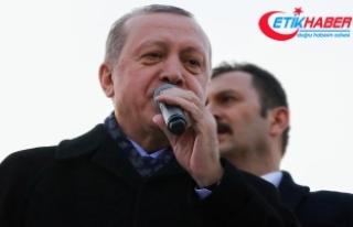 Erdoğan: Elhamdülillah, her geçen gün zafere biraz...