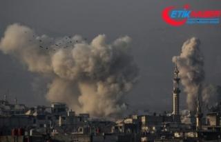 Esed rejimi Doğu Guta'da sivillere saldırdı:...